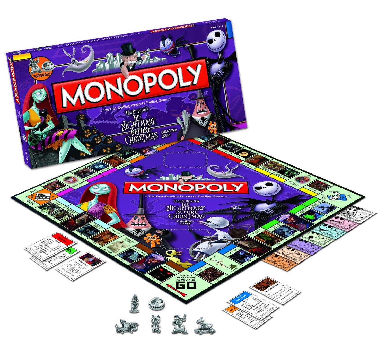 Nightmare Before Christmas – Monopoly – Uptown2000 Rocks