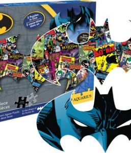 Batman – 2 Sided 600 Piece Die Cut Puzzle