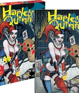 DC Comics Harley Quinn Comic Cover 500 Piece Puzzle