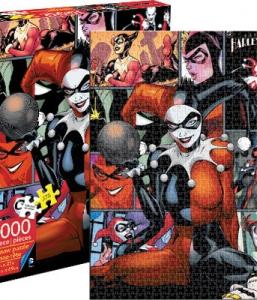 DC Comics Harley Quinn 1000 Piece Puzzle