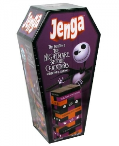 A Nightmare Before Christmas Jenga Game
