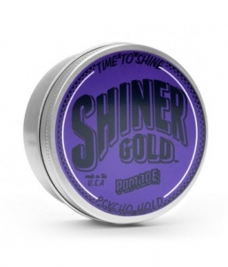 Shiner Gold Pomade – Psycho Hold Pomade