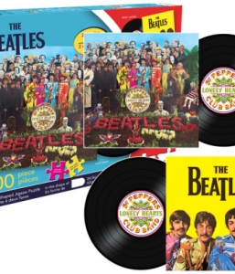 Beatles Sgt Pepper 2 Sided 600 Piece Puzzle