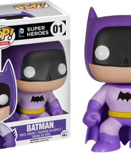 DC Comics Batman 75th Anniversary Purple Rainbow Pop Vinyl from Funko