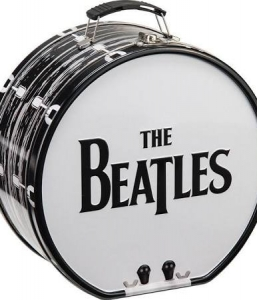The Beatles Drum Shaped Lunch Box With Logo