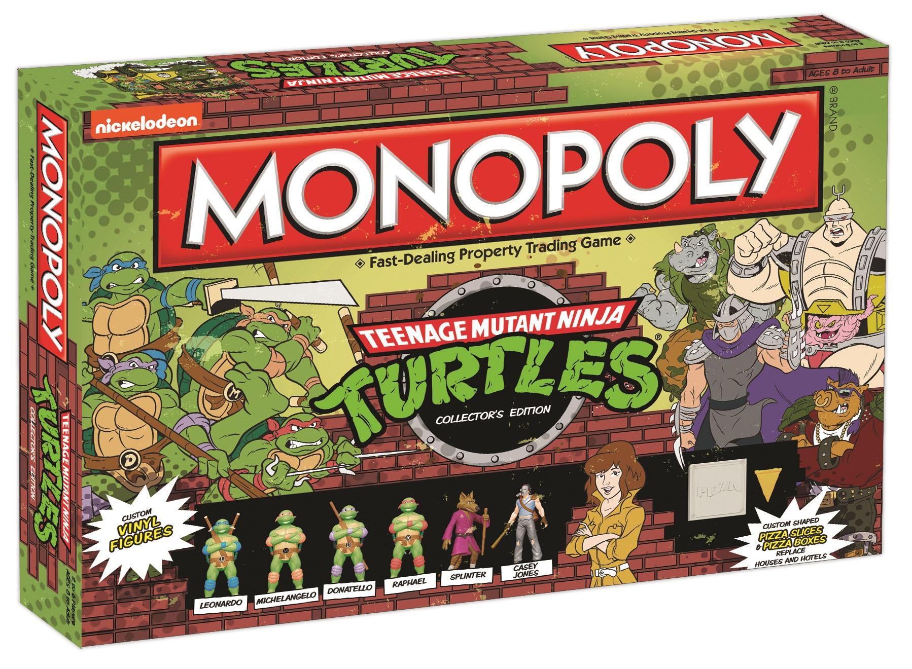 Teenage Mutant Ninja Turtles – Monopoly – Uptown2000 Rocks